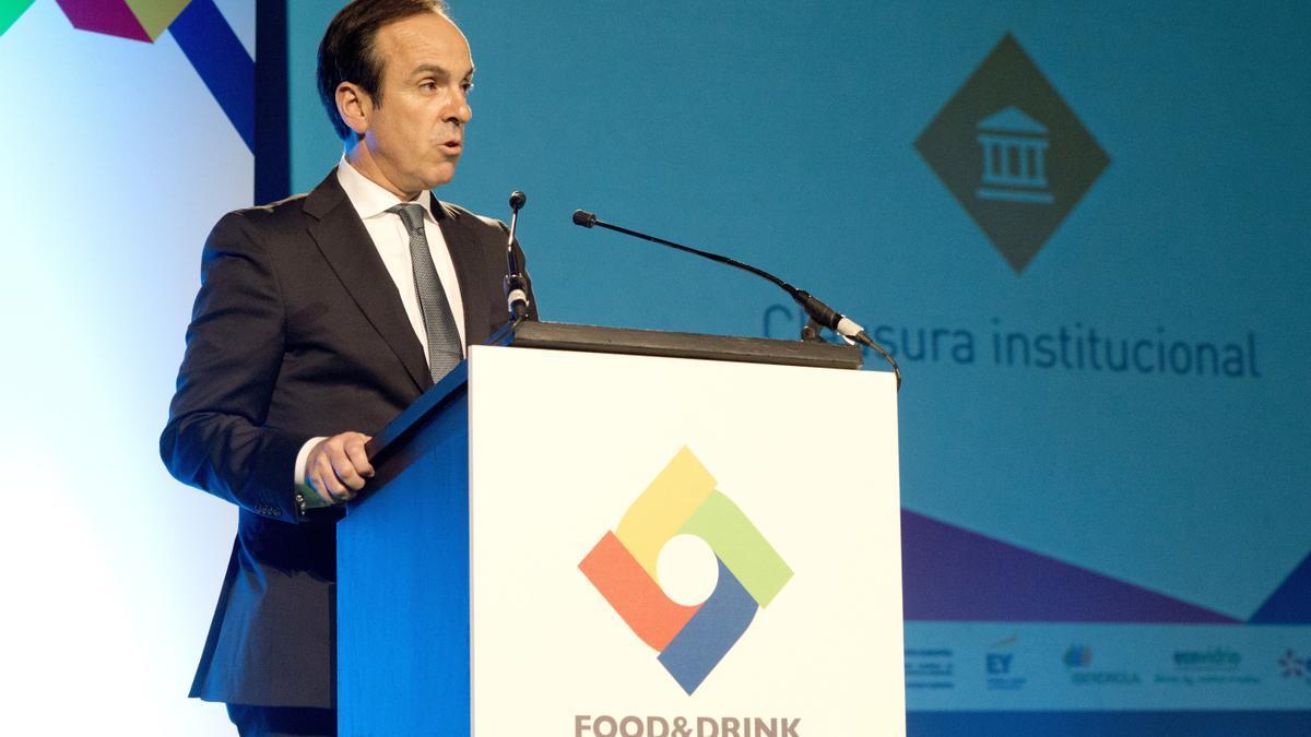 En la imagen, el director general de la patronal de la industria alimentaria (FIAB), Mauricio García de Quevedo. EFE/Javier Liaño/Archivo