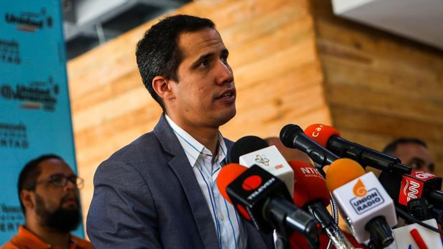 El joven diputado Juan Guaidó, nuevo presidente del Parlamento venezolano