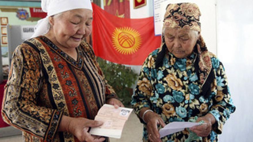 Votación en Kirguistán
