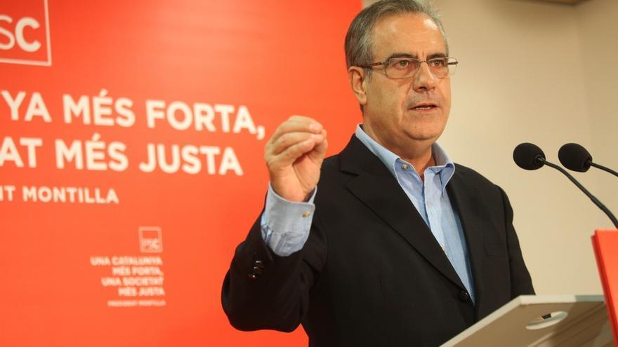"""Celestino Corbacho pide el voto para el PSC para no ir a Extremadura """"con pasaporte"""""""
