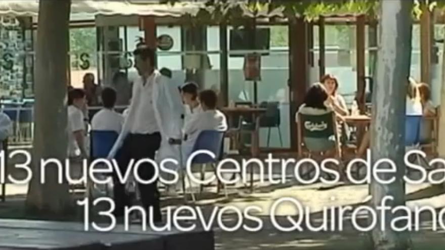 Publirreportaje Sanidad emitido por Castilla-La Mancha Televisión el 31 de marzo