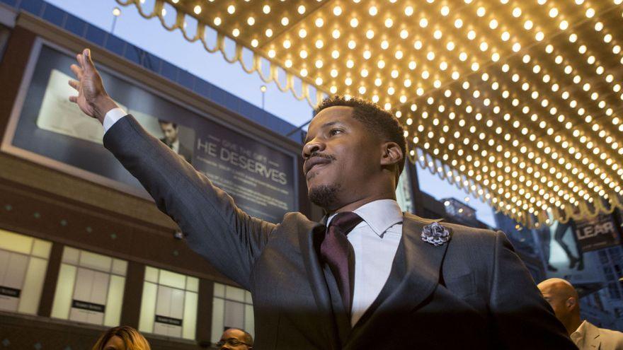 El actor y director Nate Parker llega a la premiere de 'The birth of a nation' en Toronto