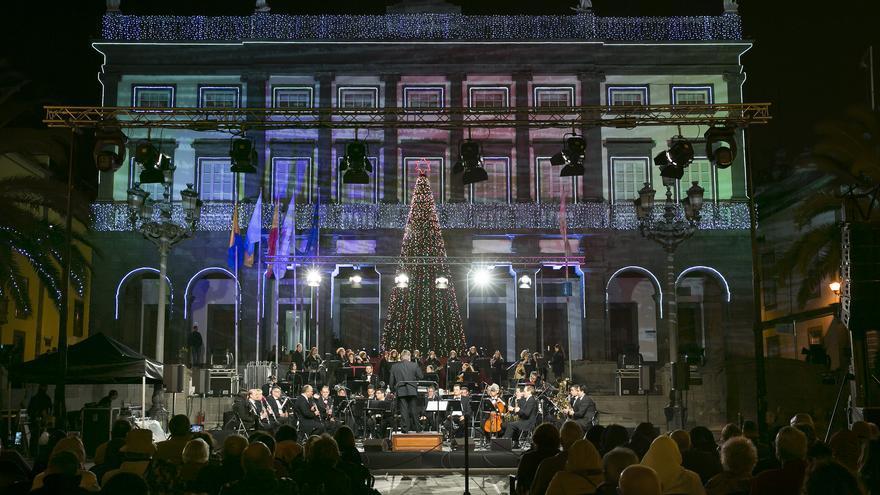 Las Palmas de Gran Canaria dará la bienvenida a la Navidad con el tradicional encendido del alumbrado y un concierto.
