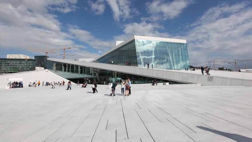 El Museo de Arte Moderno Astrup Fearnley es una de las estrellas arquitectónicas del nuevo Oslo. Bruno Cordioli