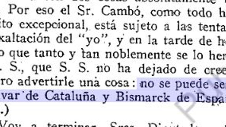 Cita de Alcalá-Zamora en el Congreso