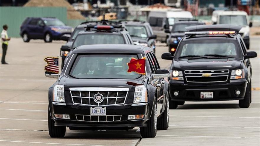 Obama concluye la visita a Vietnam y parte hacia la cumbre del G7 en Japón