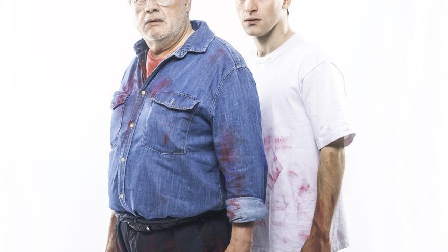 Juan Echanove y Ricardo Gómez protagonizan la obra 'Rojo'.