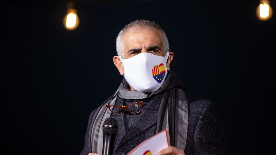 El candidato de Cs a la Presidencia de la Generalitat, Carlos Carrizosa