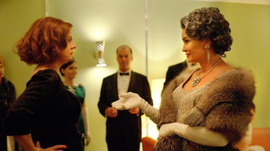 Susan Sarandon y Jessica Lange en Feud