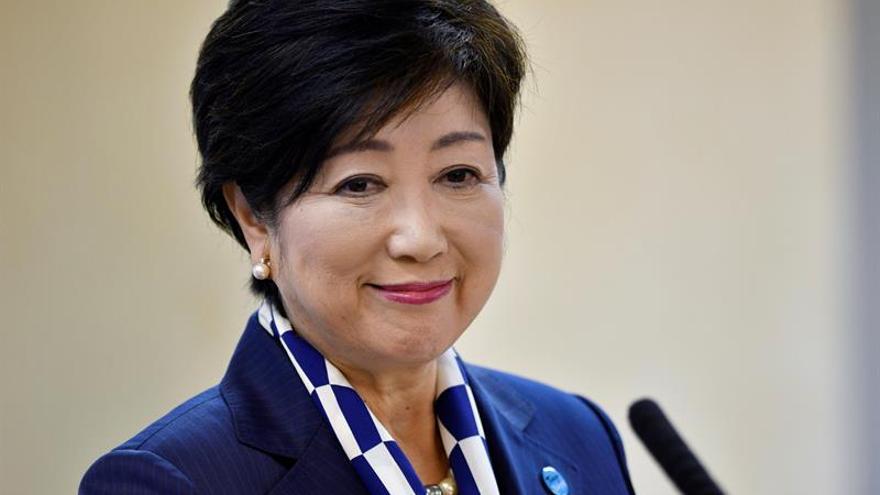 "La opositora Koike presenta su plan económico como alternativa a ""Abenomics"""