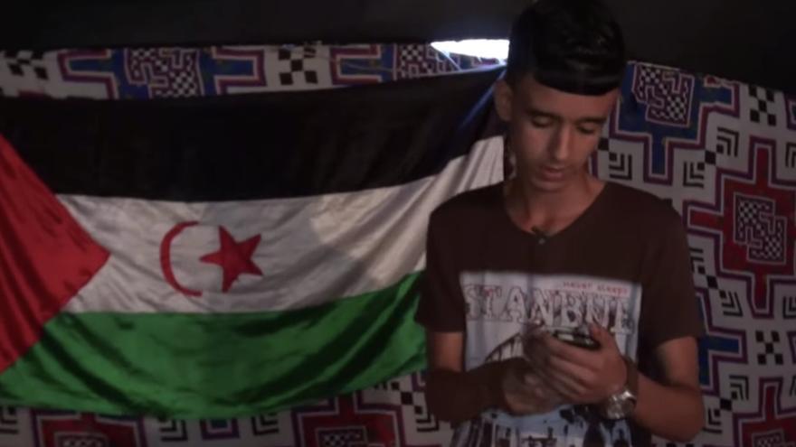 Said Lili 'Flitox', joven activista saharaui que murió en patera rumbo a Canarias.
