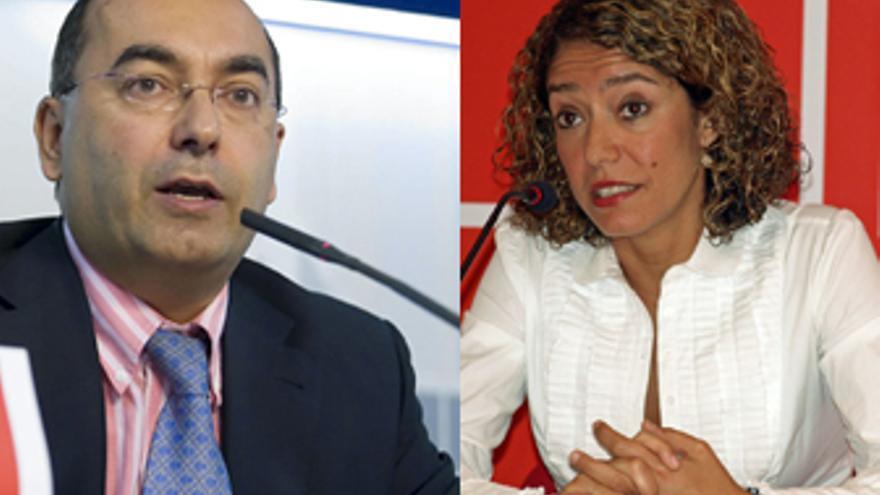 Julio Cruz y Sandra Rodríguez.