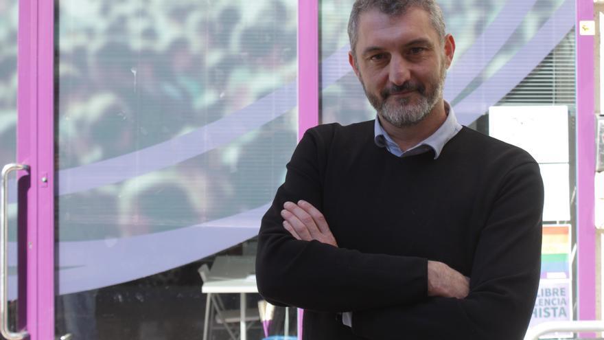 El Secretario General de Podemos en la Región de Murcia Oscar Urralburu