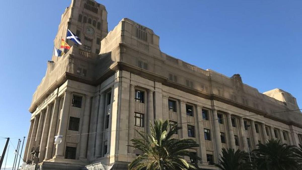 Sede del Cabildo Insular de Tenerife, en la plaza de España de Santa Cruz de Tenerife