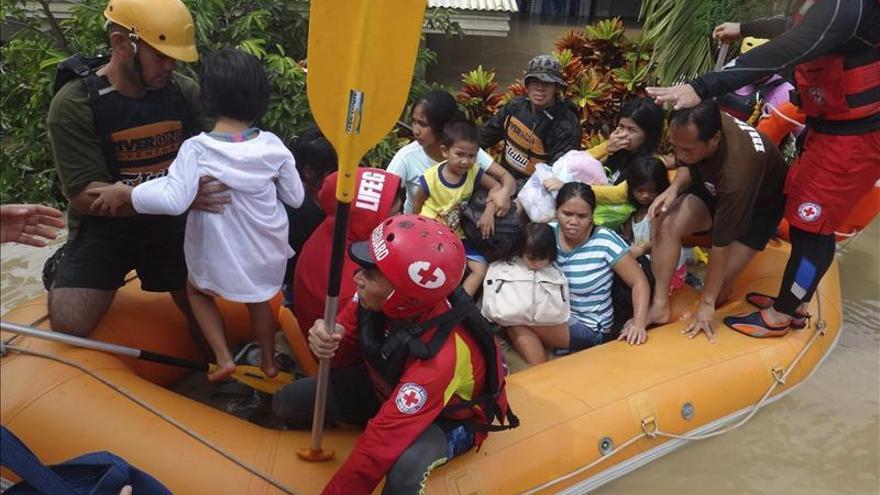 Al menos seis muertos en unas inundaciones en el sur de Filipinas