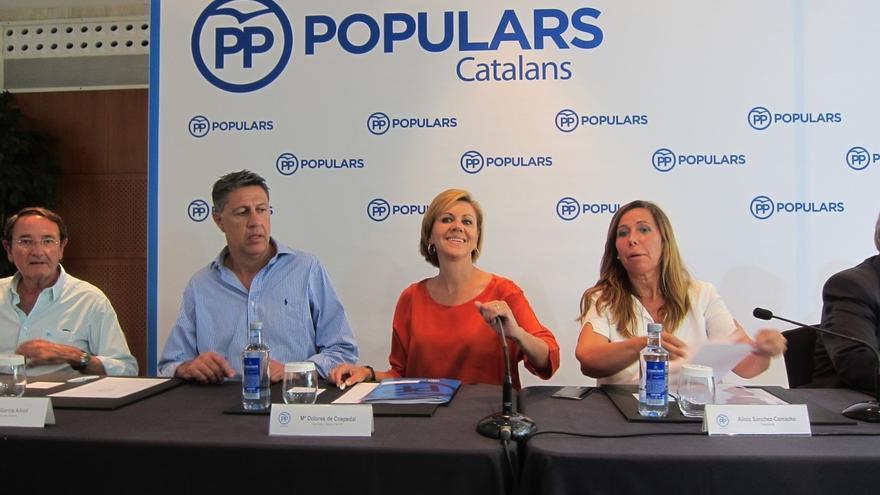 """Cospedal pide al PSOE que pacte priorizando el interés general al de """"sus dirigentes"""""""