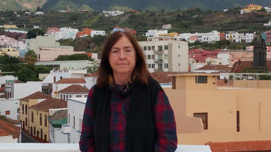 Letizia Arbeteta se encuentra de visita en La Palma. Foto: LUZ RODRÍGUEZ.