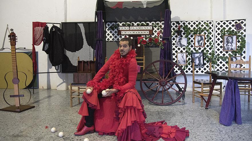 Germán López, el hombre detrás de Chicharrón Circo Flamenco  TONI BLANCO