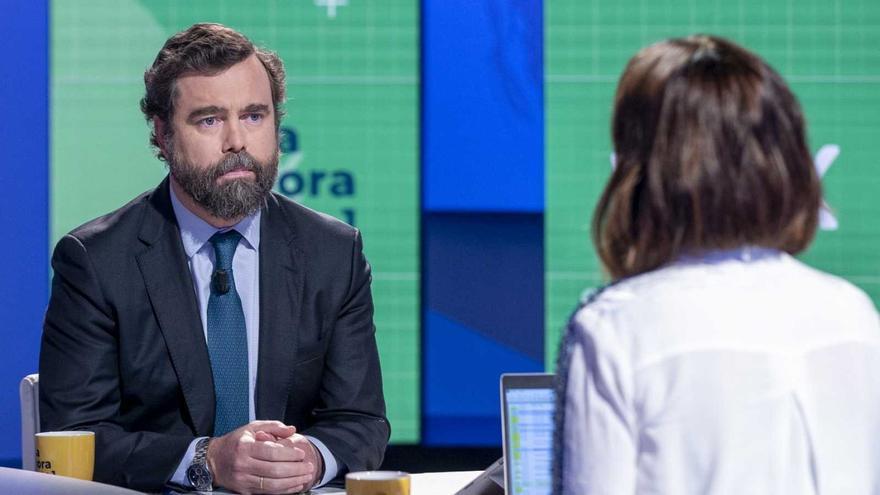 Iván Espinosa de los Monteros (Vox), en TVE