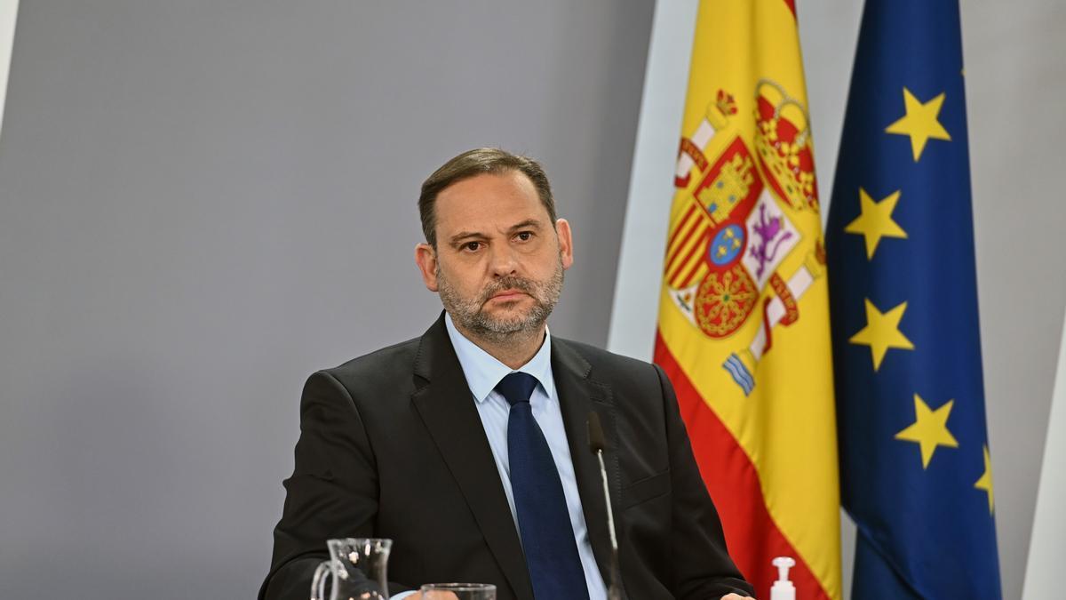 El ministro de Transportes, Movilidad y Agenda Urbana, José Luis Ábalos. EFE/Fernando Villar/Archivo