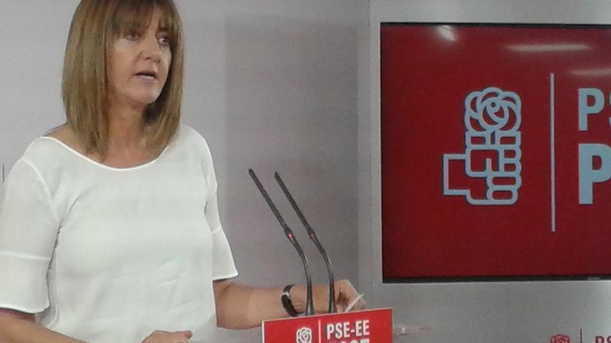 """Mendia cree que Podemos es """"un atrapalotodo"""" con una candidata independentista a la que no le dejan admitirlo en campaña"""