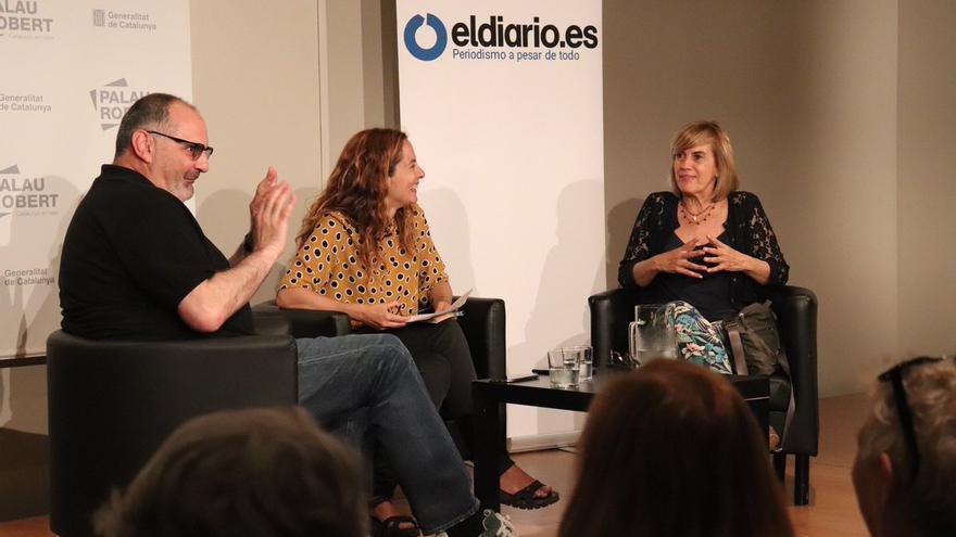 Anton Losada, Neus Tomàs y Gemma Nierga