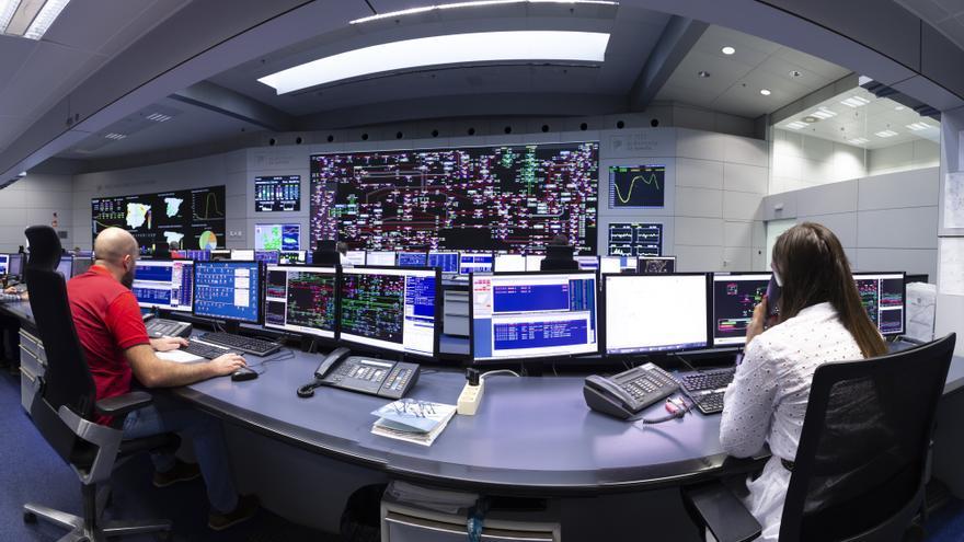 Centro de Control Eléctrico (Cecoel), en Madrid.