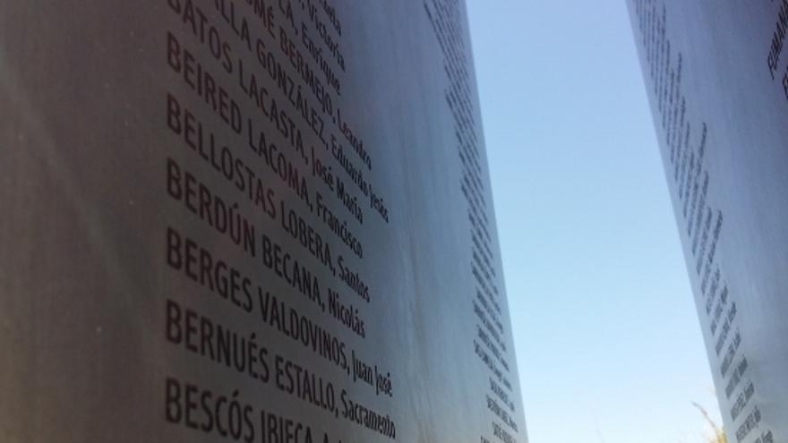 Memorial en recuerdo de los fusilados en Huesca entre 1936 y 1945