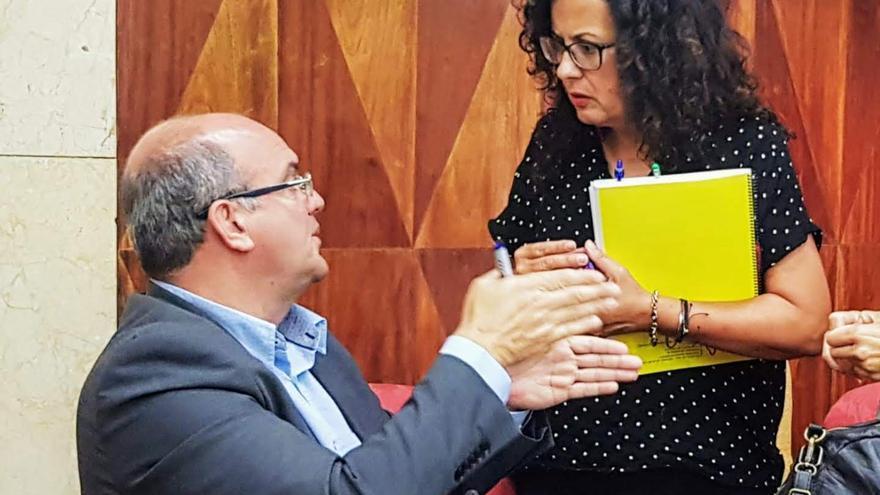 Anselmo Pestana y Nieves Rosa Arroyo.