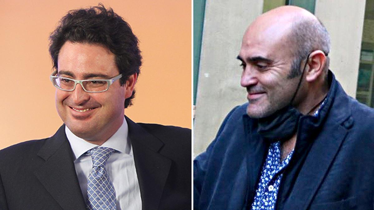 David Madí y Xavier Vendrell