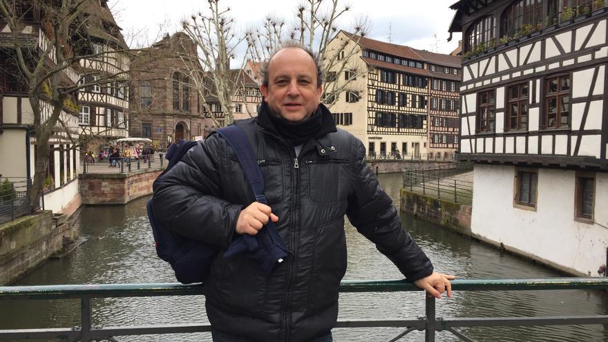 Mario Saenz, biólogo y coordinador de 'Lobos. Población en Castilla y León. Situación en España' (Rimpego)