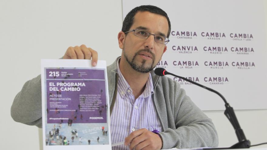 """Podemos votará no el jueves a la investidura de Díaz si el PSOE no se """"compromete con hechos"""" con sus peticiones"""