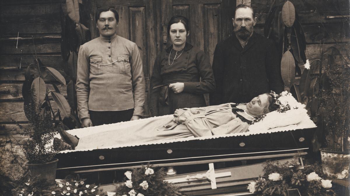 Una de las fotografías que forman parte de la colección de Carlos Areces, incluida en 'Post Mortem'.