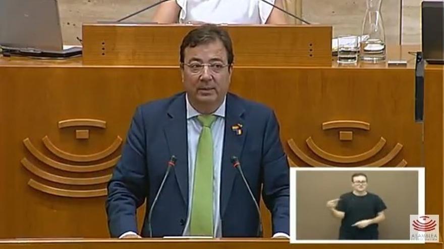 """Vara dice que lo importante"""" de lo prometido por el PSOE en Extremadadura se ha cumplido sin """"castigar"""" el """"alma social"""""""