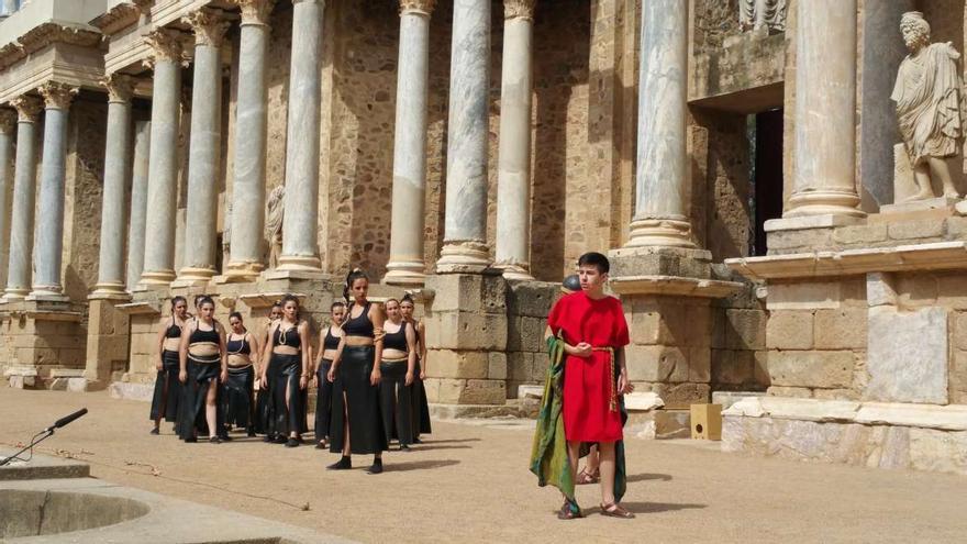 Festival teatro grecolatino juvenil Merida