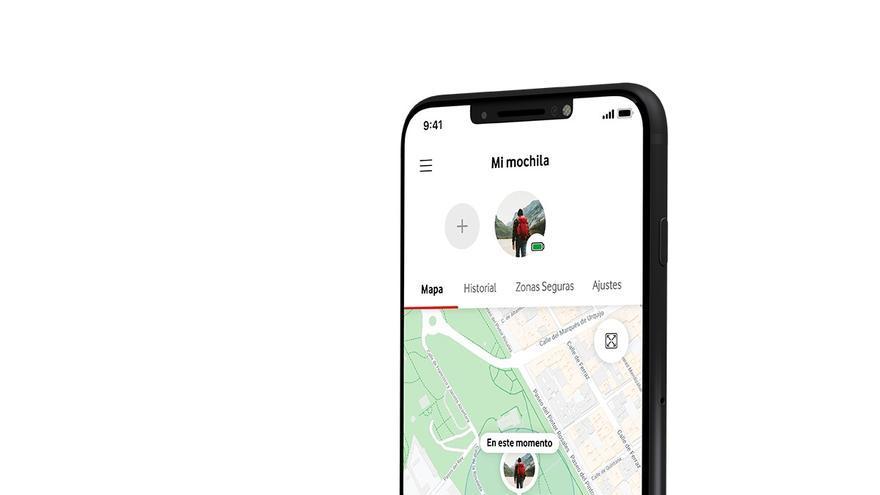Curve, nuevo localizador GPS inteligente de la familia de productos de Internet de la Cosas (IoT) para particulares de Vodafone