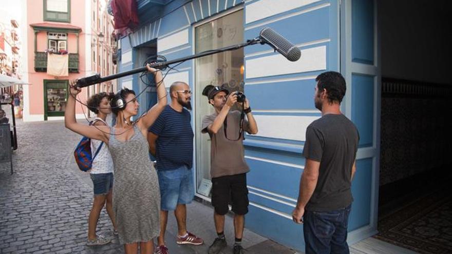 Imagen de archivo de un rodaje de El Festivalito.