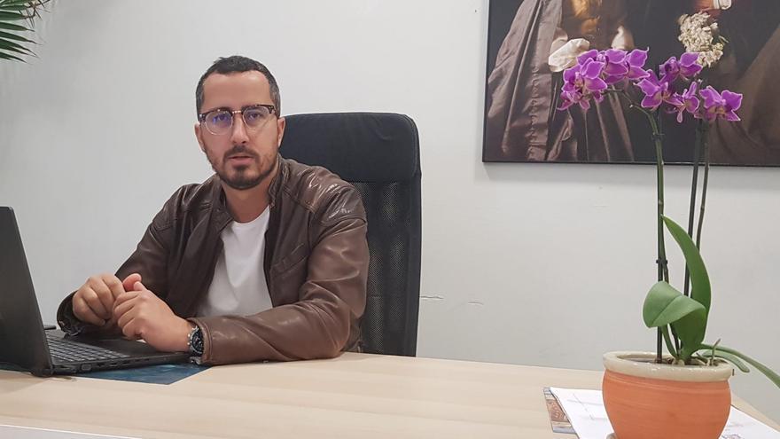 Bernardo López, concejal de Urbanismo y Vivienda del Ayuntamiento de Santa Cruz de La Palma.