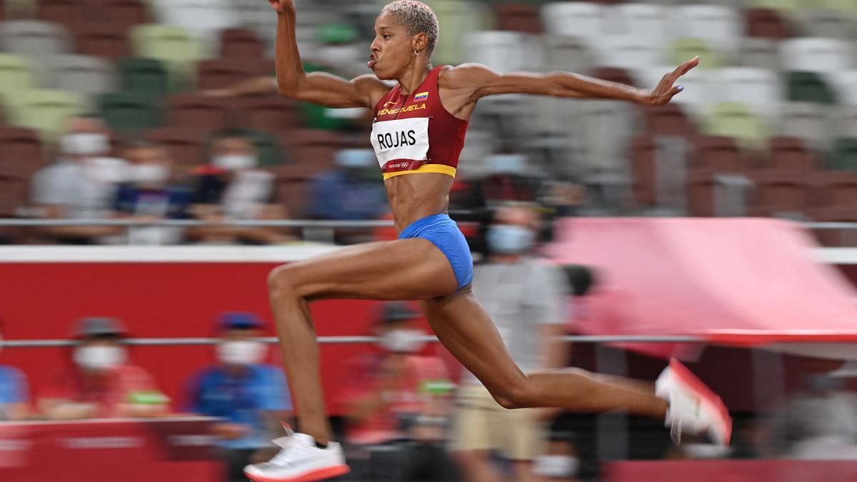 La venezolana Yulimar Rojas marcó en Tokio 2020 el récord mundial del salto triple