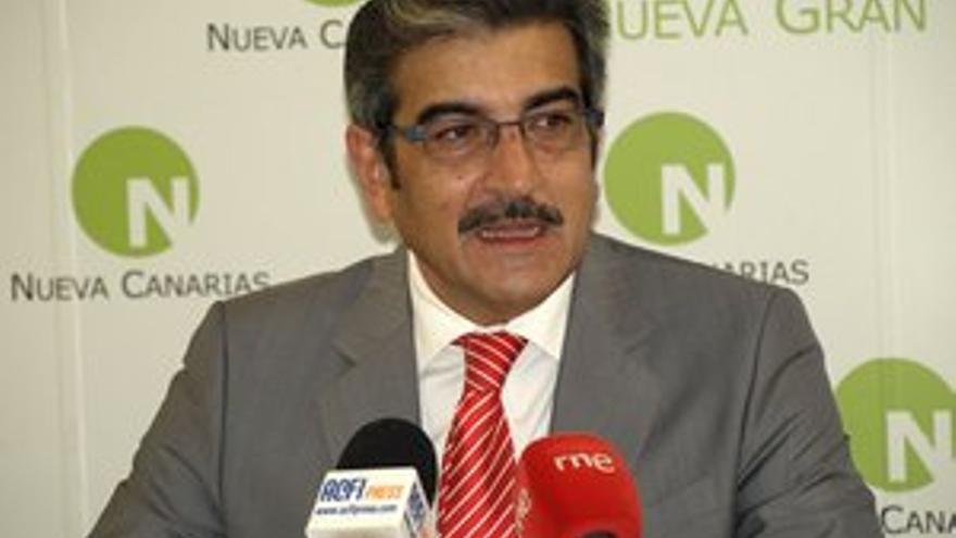 Román Rodríguez, presidente de Nueva Canarias. (ACFI PRESS)