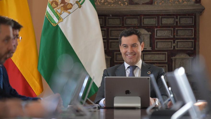 Juan Manuel Moreno, presidente del Gobierno andaluz.