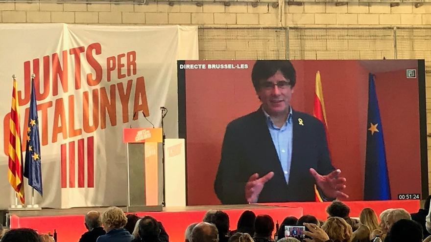 """JuntsxCat defiende que Puigdemont será investido y el Estado """"no lo puede impedir"""""""