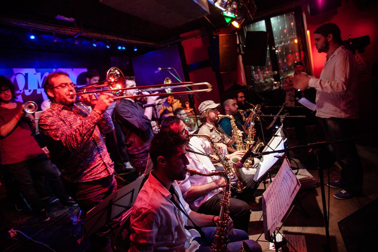 Big Band de la Escuela de Música Creativa