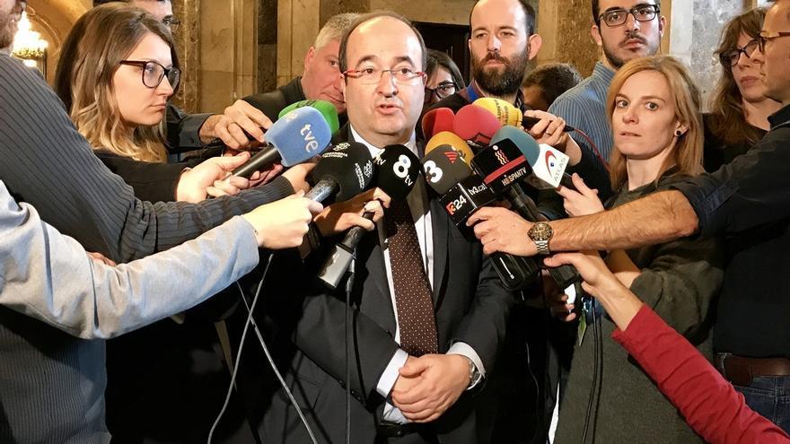 """Iceta critica a Puigdemont y Junqueras por pedir un pacto y avisar de que van a """"desobedecer"""""""