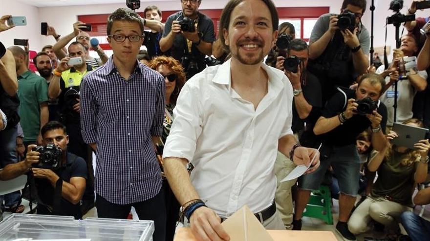 """Unidos Podemos espera con prudencia pero """"esperanzado"""" los resultados"""