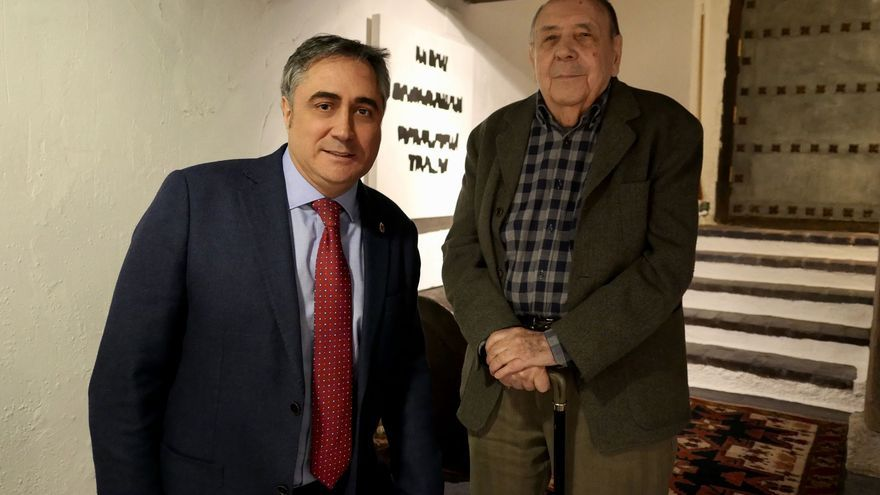 Ángel Mariscal (izq.) junto a Gustavo Torner