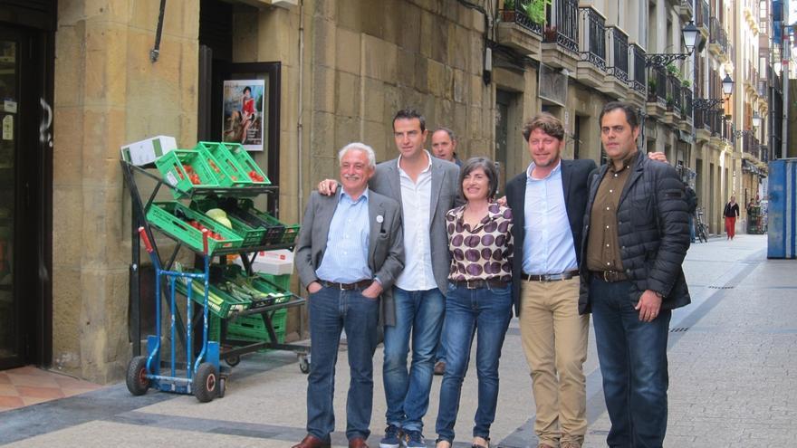 """Maneiro (UPyD) dice que el objetivo es """"quitar a la mafia que gobierna en San Sebastián y en Guipúzcoa"""""""