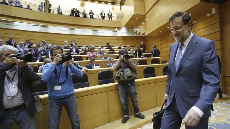 Rajoy se someterá en el Senado al primer control de la oposición tras el 24M
