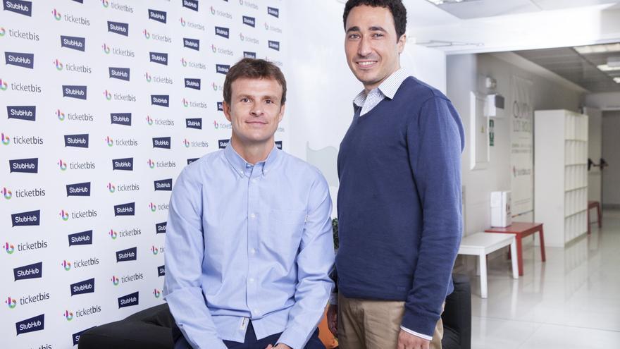 Jon Uriarte y Ander Michelena, cofundadores de Ticketbis (Imagen: Cedida por Ticketbis)
