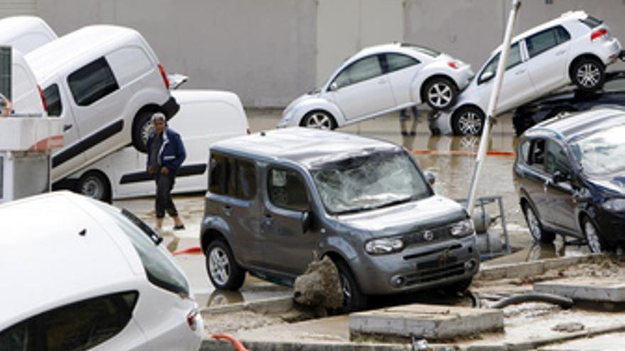 Inundaciones en el sur de Francia